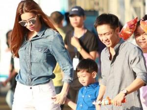 Ca nhạc - MTV - Hà Hồ - Quốc Cường đưa con đi chơi giữa bão scandal