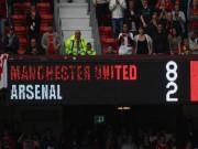 """Bóng đá - Top 10 cuộc đọ sức """"không khoan nhượng"""" giữa M.U với Arsenal"""
