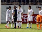 Tin bên lề bóng đá - HLV Nguyễn Quốc Tuấn: Trọng tài ép HAGL phải thua!