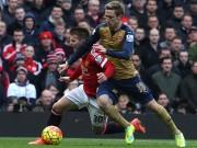 Bóng đá - Chi tiết MU - Arsenal: Tấn công trong vô vọng (KT)
