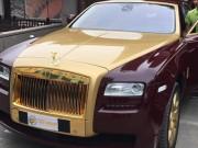 Ô tô - Xe máy - Chủ nhân Rolls-Royce Ghost mạ vàng ở Việt Nam là ai?