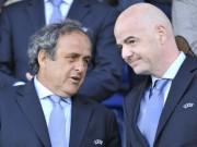 """Tin bên lề bóng đá - Nghi án tân chủ tịch FIFA được Platini """"giật dây"""""""