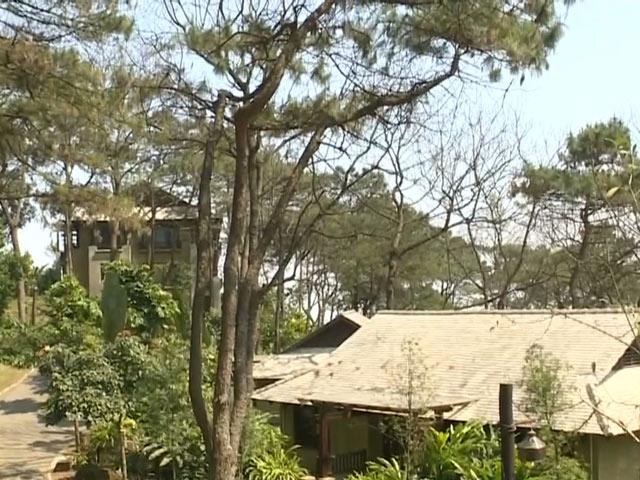Cận cảnh khu resort trái phép giữa VQG Ba Vì