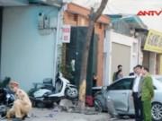 Video An ninh - Lời kể nhân chứng vụ xe Camry đâm chết 3 người tại HN