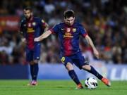 """Bóng đá - Nguyên tắc vật lí """"giúp"""" Messi sút phạt hoàn hảo"""