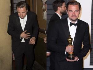 Hậu Oscar, Leonardo quá vui quên cả tượng vàng