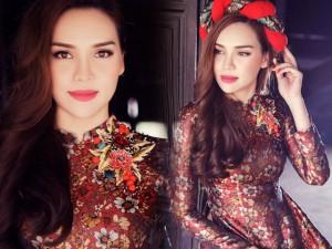 Hoa hậu Diệu Hân tái xuất quyến rũ, nữ tính