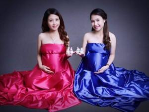 Bạn trẻ - Cuộc sống - Kỳ diệu: Chị em sinh đôi cùng chuyển dạ một ngày