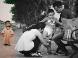 Bạn trẻ - Cuộc sống - Xúc động trước bộ ảnh về hai mảnh đời đối lập