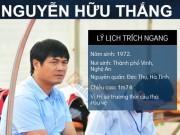 """Ngôi sao bóng đá - Hữu Thắng: Từ trung vệ """"thép"""" đến HLV trưởng ĐTVN (Infographic)"""