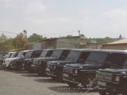 Ô tô - Xe máy - Dàn Mercedes-Benz G class siêu khủng trong đám cưới vùng quê