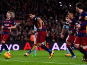 """Bóng đá - Barca lại hỏng phạt đền: Bệnh nan y của """"M-S-N"""""""