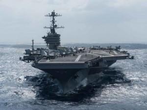 Thế giới - Mỹ điều tàu sân bay tới Biển Đông đối đầu TQ
