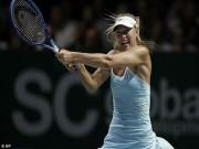 Thể thao - Người đẹp Sharapova vẫn bị vận đen đeo bám