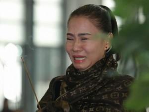 """Phim - Nước mắt sao Việt """"ngập"""" đám tang nhạc sĩ Lương Minh"""