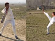 Thể thao - Cụt 2 tay, chơi cricket còn giỏi hơn vạn người