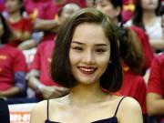 Thể thao - Miu Lê, Đông Nhi & người đẹp làm nóng sân bóng rổ