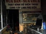 Tin tức trong ngày - HN: Cháy cửa hàng điện thoại, 8 người nhập viện