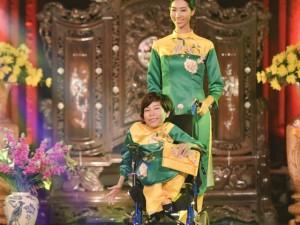 Áo dài Việt thổi hồn vào dàn mẫu Nghị Lực Sống