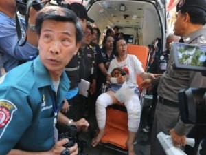 Thế giới - Nổ tàu chở khách ở Thái Lan, 58 người bị thương