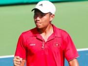 Thể thao - Davis Cup: Hoàng Thiên rực sáng, ĐTVN hạ Indonesia
