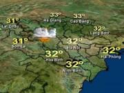 Tin tức trong ngày - Dự báo thời tiết VTV ngày 7/3