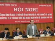 Tin tức trong ngày - Ông Hoàng Trung Hải: Hạ tầng giao thông HN ở mức báo động