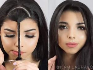 Làm đẹp - Dân mạng thích thú với mẹo cắt tóc xinh trong 30 giây