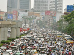 Tin tức Việt Nam - HN trình đề án hạn chế phương tiện cá nhân vào tháng 4?