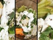 Ẩm thực - Salad kiểu Việt trộn mayonnaise sữa đậu nành