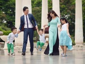 Giải trí - Cuộc sống đẹp như mơ của gia đình MC Phan Anh