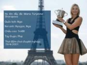 """Thể thao - (Infographic) Sharapova: Sự nghiệp lừng danh """"tàn"""" vì doping"""