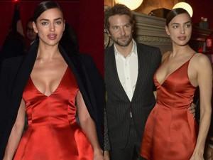 Váy - Đầm - Irina Shayk đẹp quyến rũ và rực rỡ bên người tình