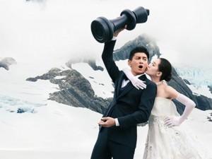 Trọn bộ ảnh cưới như mơ của Ngô Kỳ Long – Lưu Thi Thi