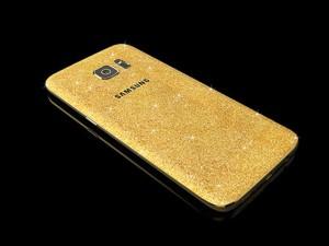 Tin tức công nghệ - Samsung Galaxy S7 mạ vàng 24 karat lấp lánh