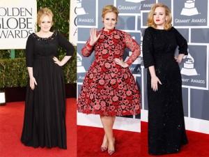 Học  họa mi nước Anh  Adele chọn váy cho nàng béo