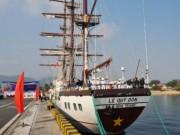 Tin tức trong ngày - Hải quân VN đưa tàu buồm hiện đại nhất TG vào sử dụng