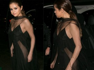 """Selena Gomez hoàn hảo khi diện mốt """"không nội y"""""""