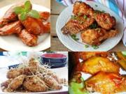 Ẩm thực - 4 món cánh gà ngon miệng cho những ngày đầu tháng