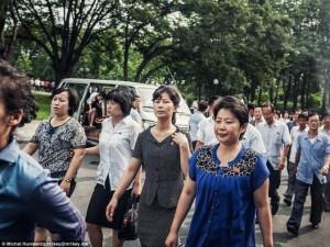 Thế giới - Chùm ảnh chụp lén công phu ở Triều Tiên