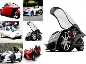 Ô tô - Xe máy - Top 10 mẫu xe 3 bánh vô cùng độc đáo (P1)