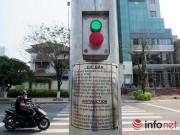 Tin tức trong ngày - Đà Nẵng: Lạ lẫm với đèn tín hiệu dành cho người đi bộ