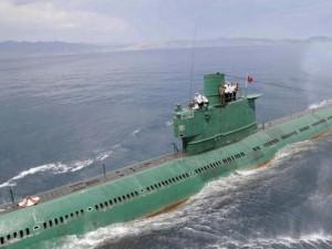 Tàu ngầm Triều Tiên đột nhiên mất tích