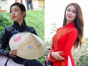 Ca nhạc - MTV - T-ara đẹp hút hồn khi diện áo dài ở Việt Nam