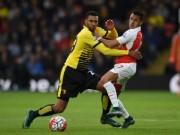 Bóng đá - Chi tiết Arsenal - Watford: Chìm trong thất vọng (KT)