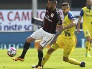 Bóng đá - Chievo - Milan: Khung thành xa xăm