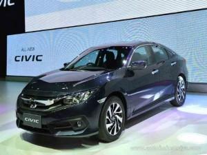 Ô tô - Xe máy - Honda Civic 2016 ra mắt tại Đông Nam Á, giá 552 triệu đồng