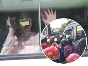 Sao ngoại-sao nội - Fan Việt rượt đuổi T-ara khiến đường phố tắc nghẽn