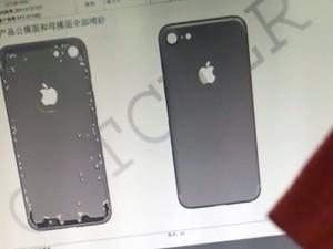 Dế sắp ra lò - iPhone 7 lộ vị trí camera, giắc cắm qua lớp vỏ