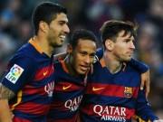 Các giải bóng đá khác - Tin HOT tối 14/3: MSN lập thêm kỉ lục